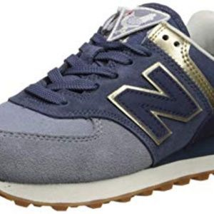 new balance wl574 metallic